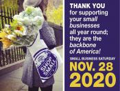 Coupon Offer: Small Business Saturday November 28th!